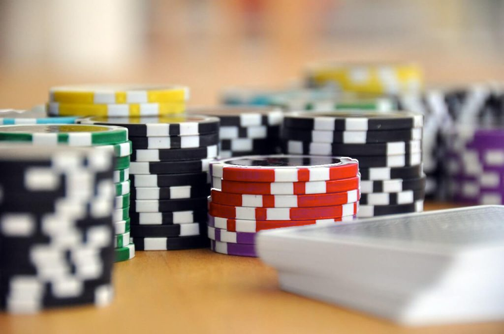 Purple Poker game