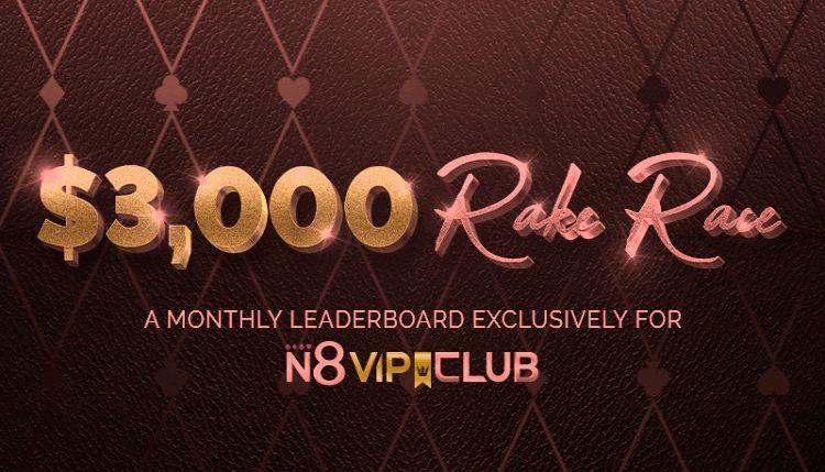 Natural8 poker rake