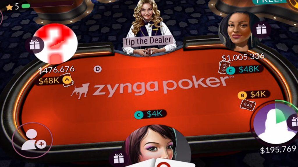 play the Zynga Texas Holdem Poker